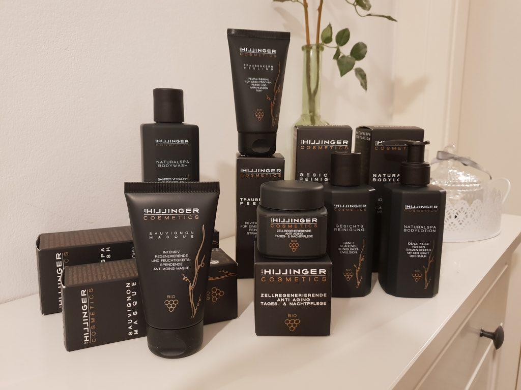 Hillinger Cosmetics Gesamte Serie